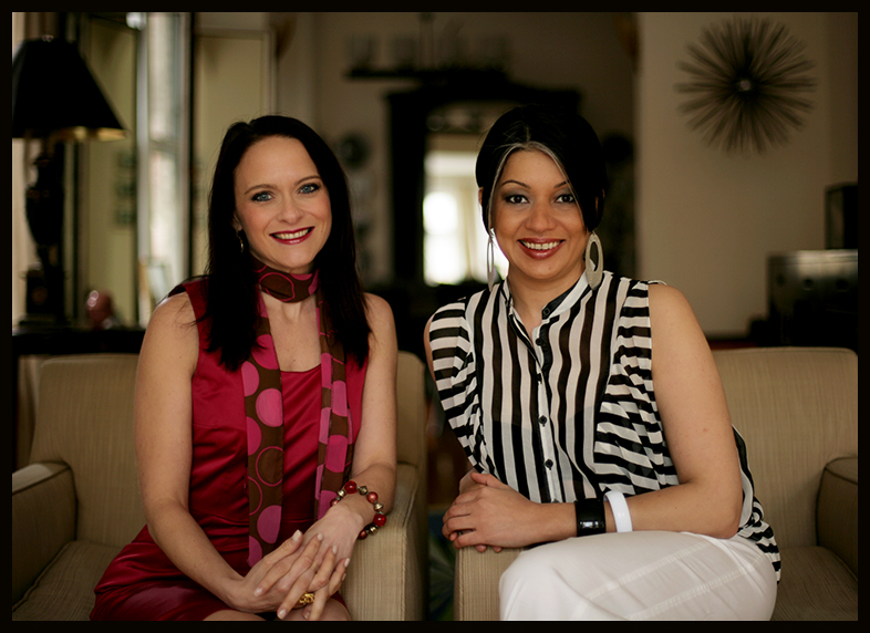 Schae Lewis, CPO® (L) and Bahar Partow (R), Co-founders of Mission 2 Organize LLC