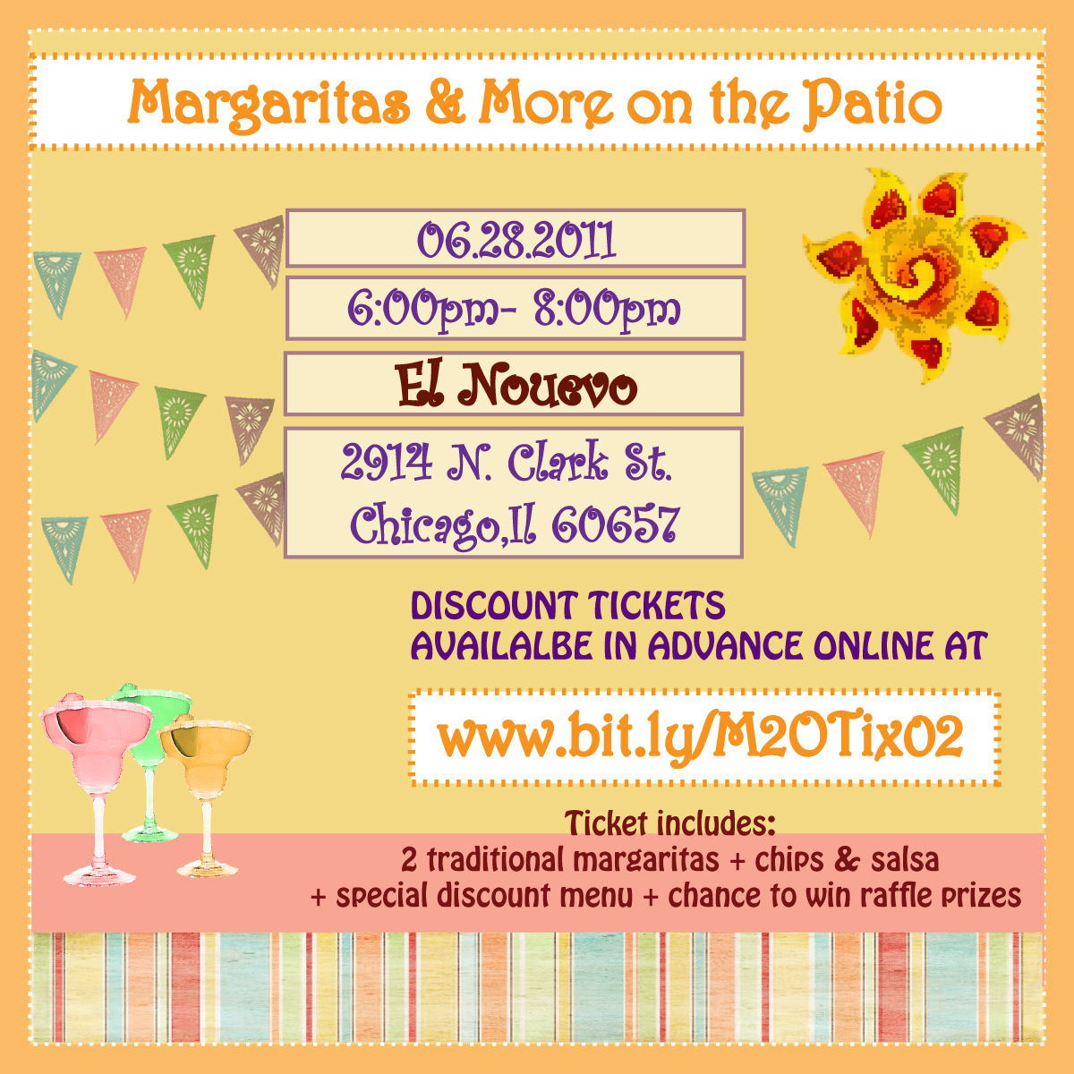 Margaritas & More on the Patio