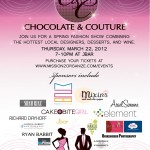 Chocolate & Couture: A Spring Fashion Show