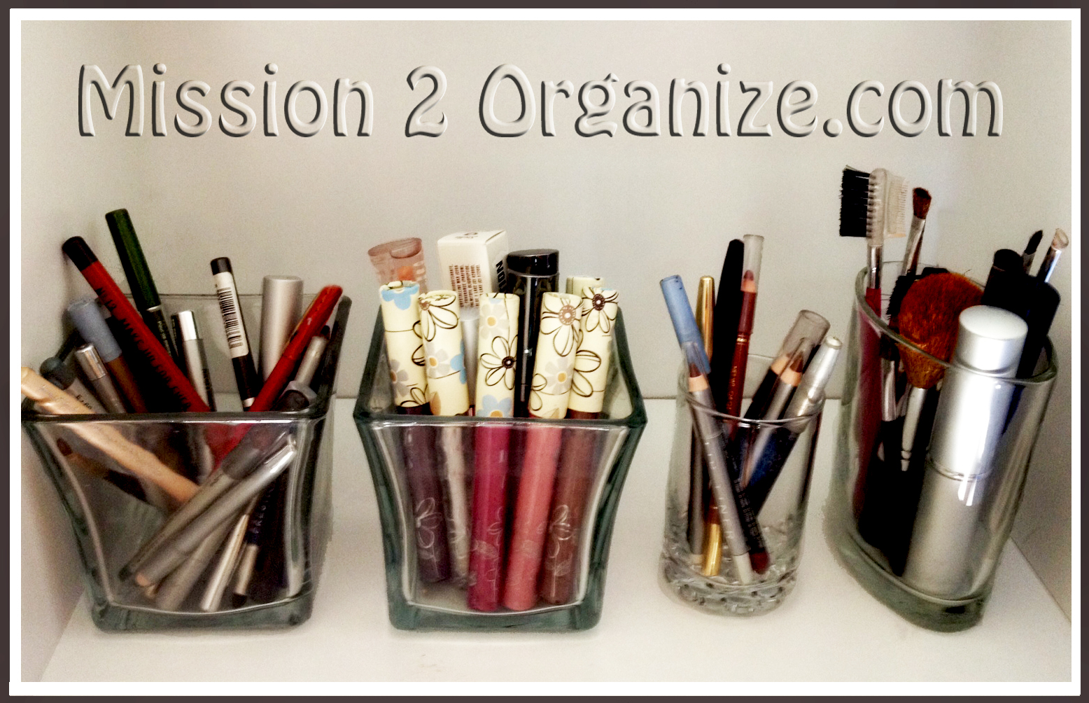 Mission Organize Makeup Organizing Tip