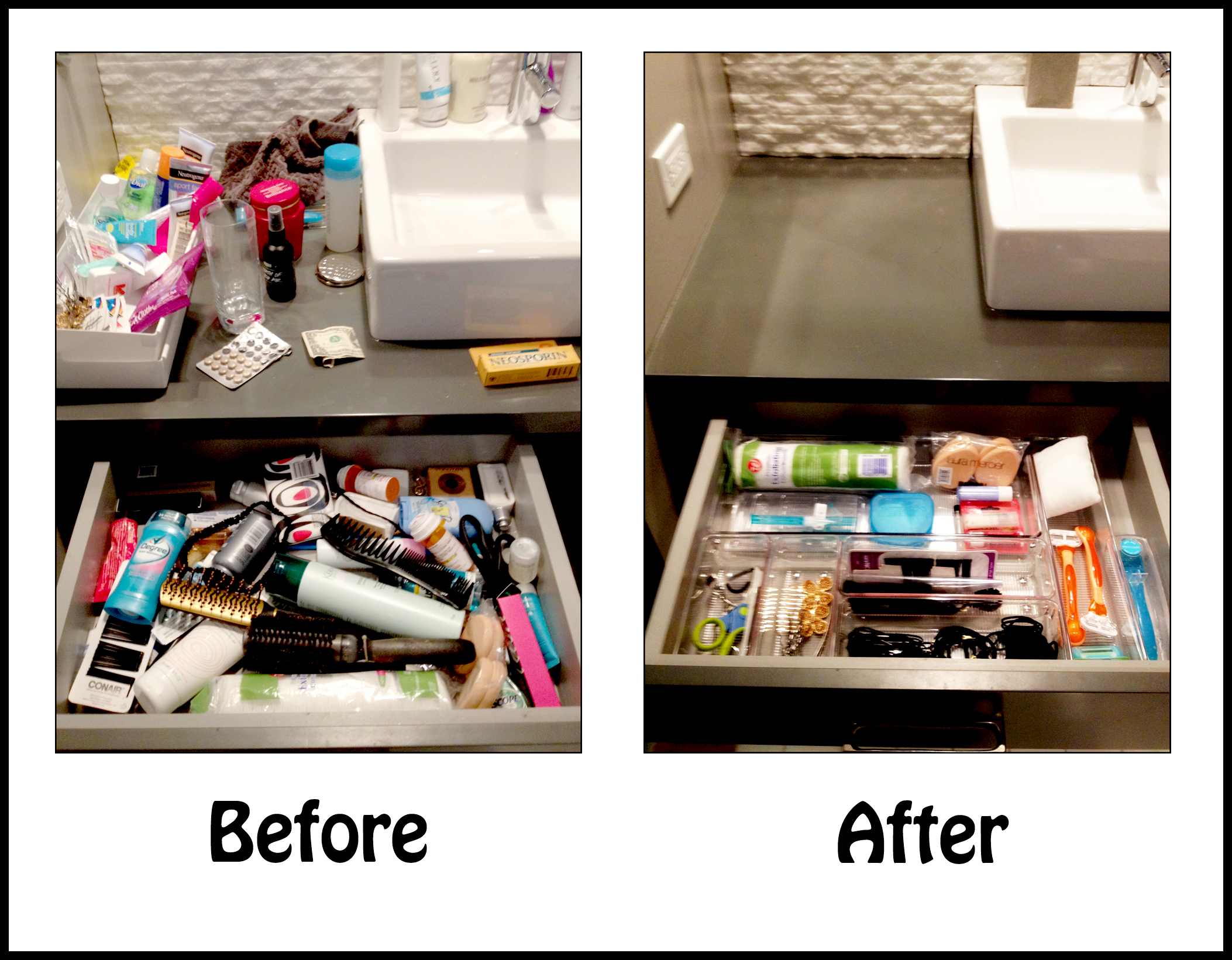 Extra time: Your bonus for staying organized!
