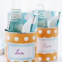 20 DIY Organizing Products Using Recycled & Repurposed Cans!