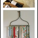 DIY Organizing: Vintage Rake Head!