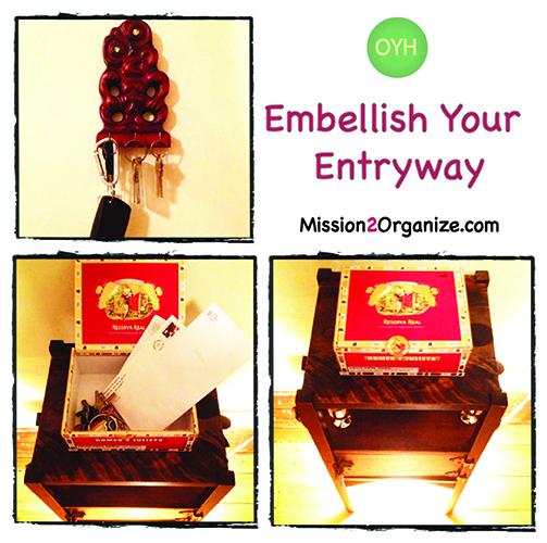 Organize Your Entryway!