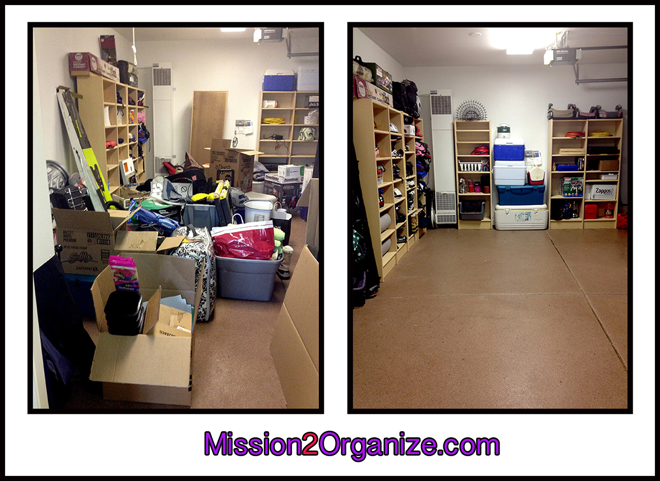 mission 2 organize park and store