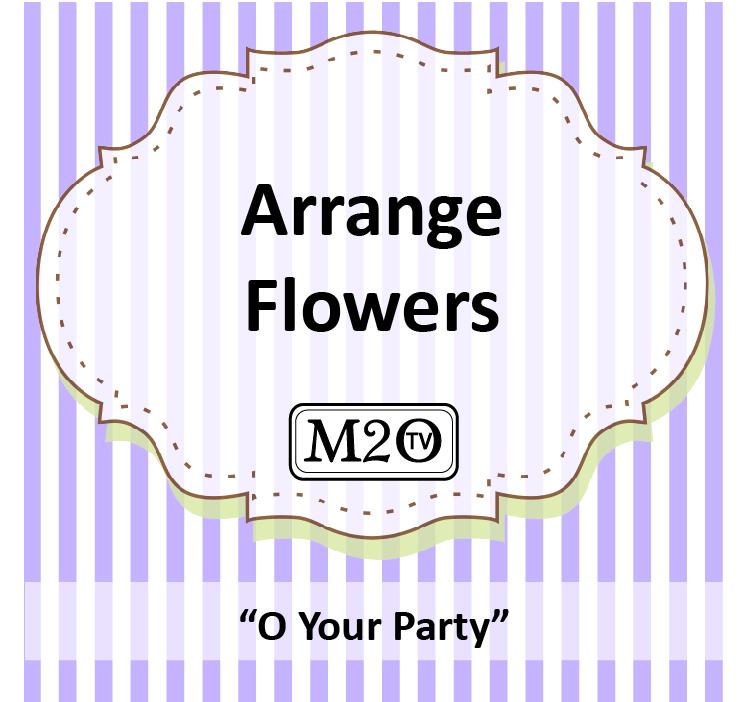How 2 Arrange Flowers