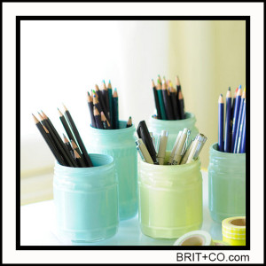 mason-jar-DIY-pencil-organizer