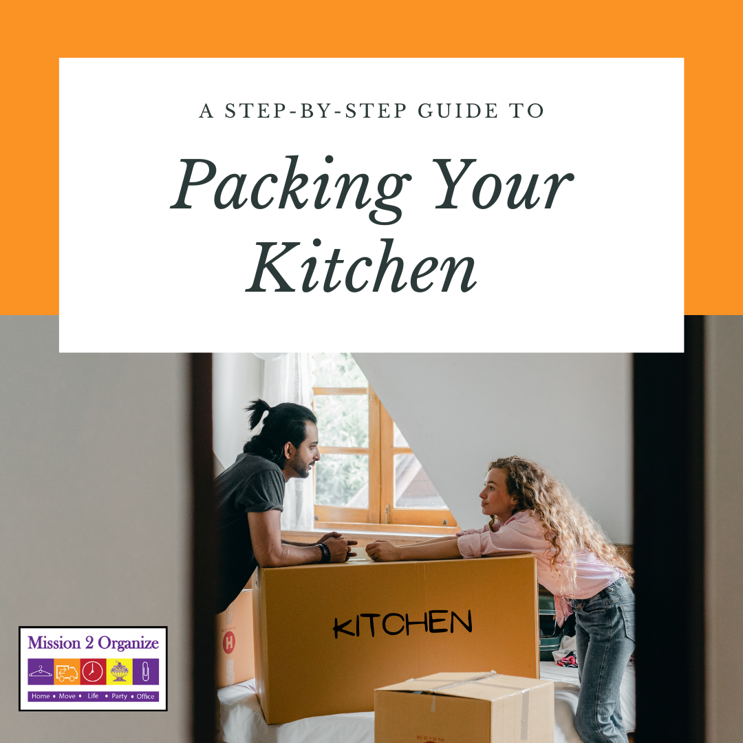 A Step-by-Step Guide to Packing Your Kitchen