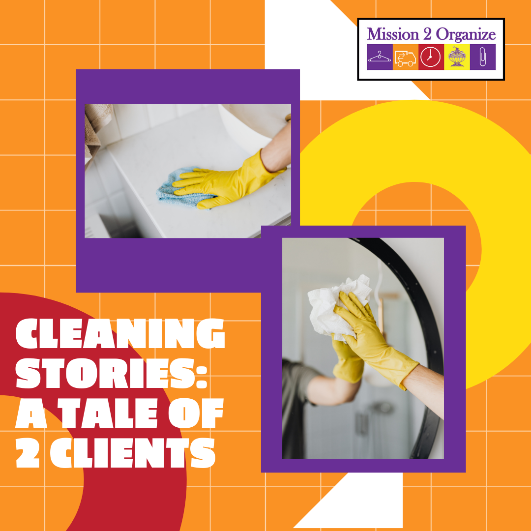 Cleaning Stories: A Tale of 2 Clients