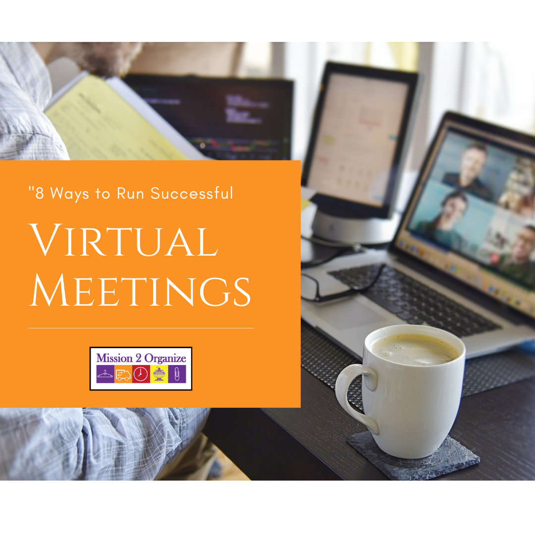 8 Ways to Run a Successful Virtual Meeting