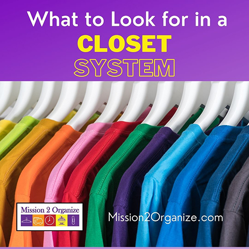 What to Look for in a Closet System